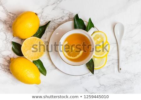 розовый · космополитический · пить · лимона · черный - Сток-фото © tycoon