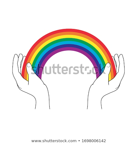 Hope Rainbow Concept Stock photo © Lightsource
