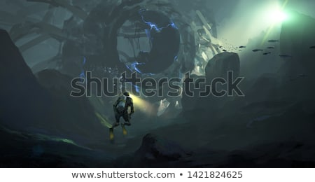Mysterious underwater landscape Stock photo © Mps197