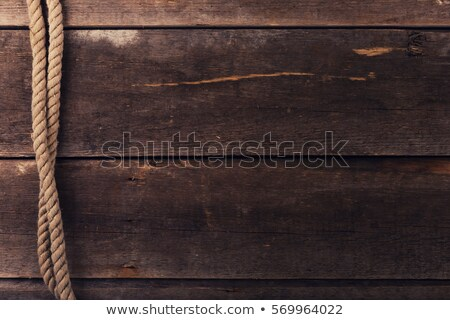 ship rope and old wood background texture  Stock photo © inxti