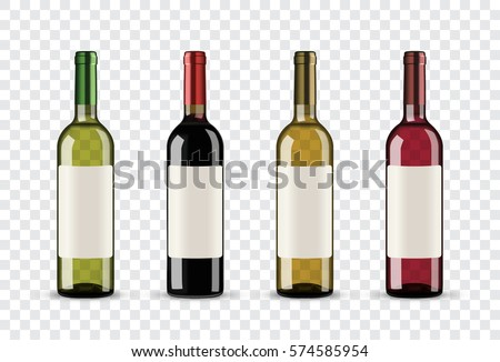 Vermelho vinho branco garrafas branco vinho bar Foto stock © SRNR