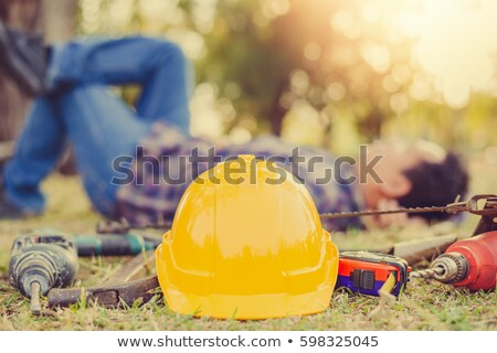 Relaxed construction worker Stock photo © photography33