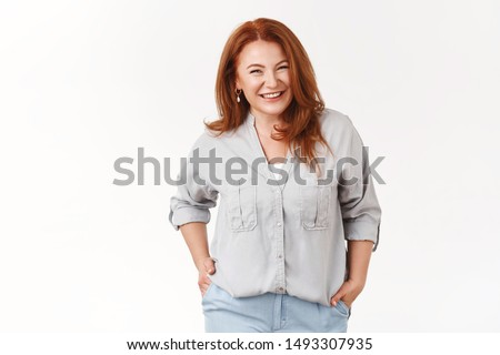 frizura · vonzó · barna · hajú · nő · imádnivaló · arc - stock fotó © konradbak