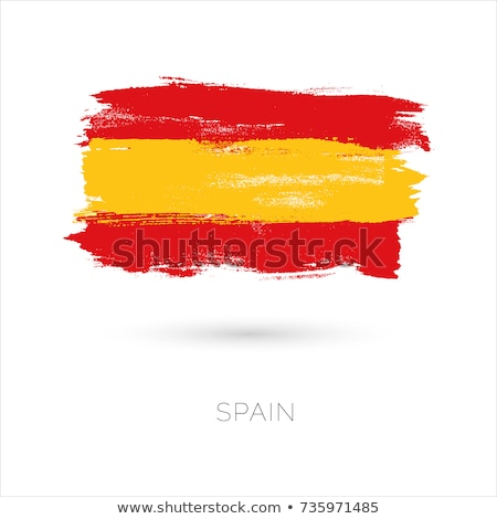 Abstract background with the Spain Flag Stock photo © maxmitzu