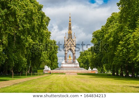 kensington gardens in london stock photo © chrisdorney
