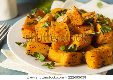 Baked butternut squash Stock photo © MKucova