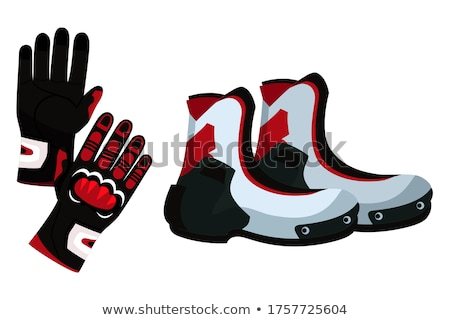 Pair of motorcyclist Stock photo © adrenalina