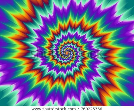 Colorful optical illusion  Stock photo © shawlinmohd