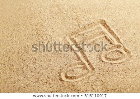 Music at the seaside concept Stock photo © ozgur
