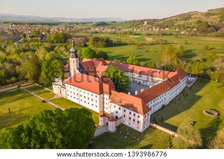 Monastery Kostanjevica na Krki, Slovenia, Europe. Stock photo © kasto