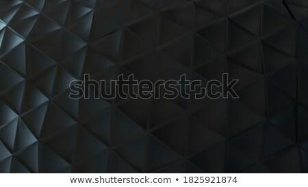 黒 プラスチック グリッド 抽象的な 幾何学的な ストックフォト © Zebra-Finch