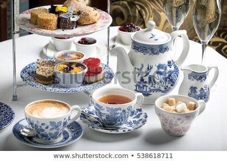 english tea and dessert  Stock photo © keko64