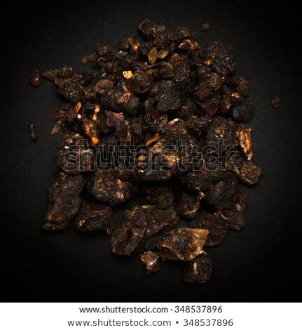 Top view of Organic Indian bdellium (Commiphora wightii) Stock photo © ziprashantzi