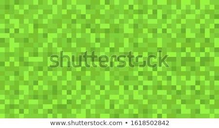 мозаика квадратный Пиксели шаблон вектора искусства Сток-фото © vector1st