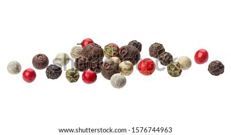 group of black peppercorns Stock photo © Digifoodstock