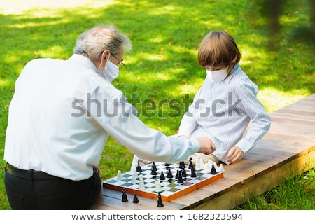 visit of grandparents Stock photo © IS2