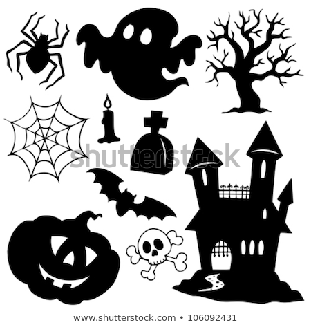 Haunted house with ghosts theme 1 Stock photo © clairev