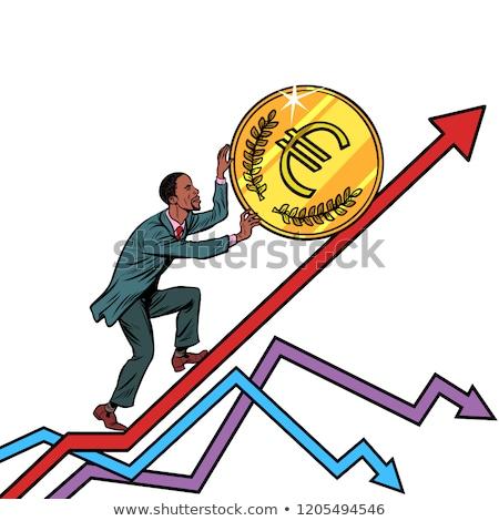euro · kriz · avrupa · bankacılık · bankacı · karikatür - stok fotoğraf © studiostoks