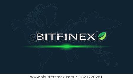 - Bitfinex. The Crypto Coins or Cryptocurrency Logo. Stock photo © tashatuvango