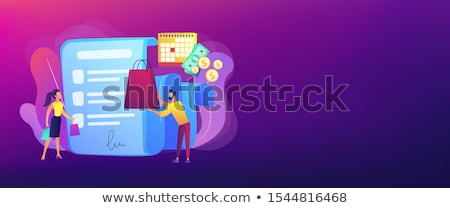 Deferment of payment concept banner header Stock photo © RAStudio
