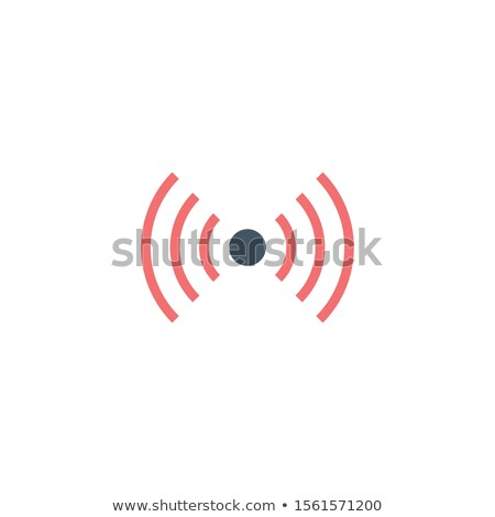 Two sided Wireless icon. WiFi Zone Sign. Remote Access And Radio Waves Communication Symbols. Wi-Fi  Stock photo © kyryloff