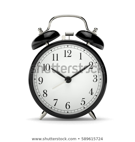 Classic Alarm clock with analog dial Stock photo © LoopAll