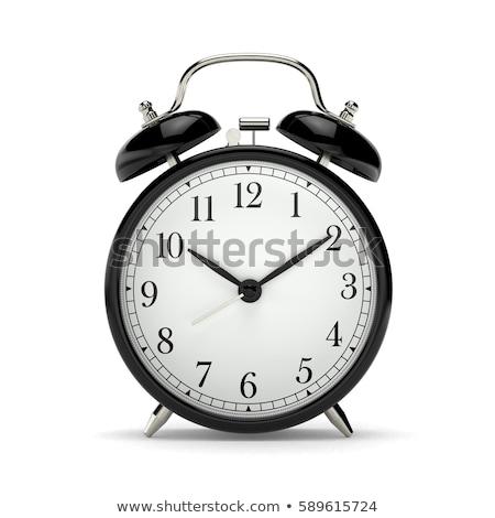 Klasyczny budzik analog wybrać dzwon czasu Zdjęcia stock © LoopAll