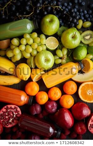 Unterschiedlich gesunden Früchte Gemüse Regenbogen Stil Stock foto © dash