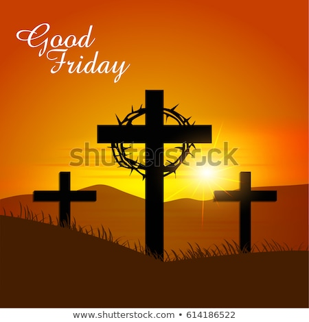 good friday event background with jesus christ crucifixion Stock photo © SArts