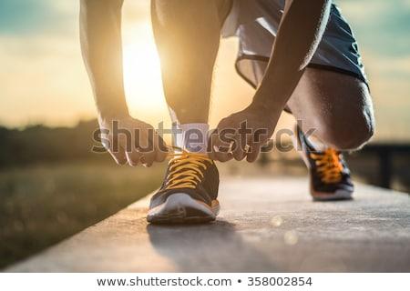 男 · 徒歩 · 空 · フィットネス · 健康 · スポーツ - ストックフォト © Ammentorp