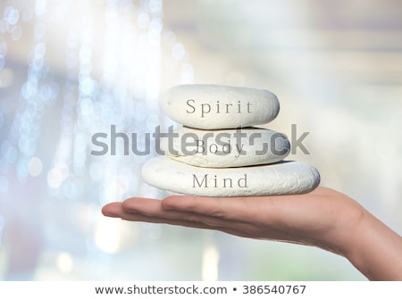 healthy concept spirit body and mind stock photo © ansonstock
