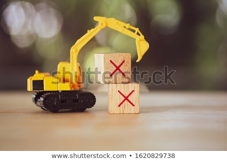 Toy digger Stock photo © stevanovicigor