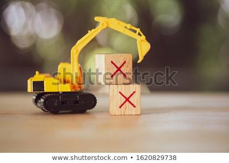 straat · bouw · werk · reizen · stedelijke · industrie - stockfoto © stevanovicigor
