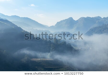 early morning mountain Stock photo © magann