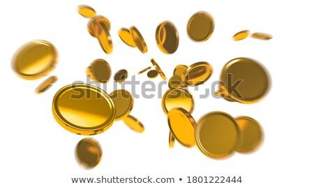 Dourado foco reflexão 3D texto Foto stock © marinini