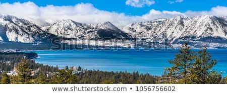 Nevada panorama dağ beyaz dağlar doğa Stok fotoğraf © pancaketom