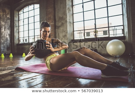 young woman training in the gym stock photo © photography33