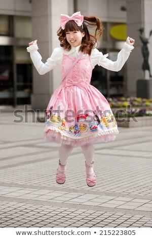 Doce japonês menina cosplay estilo sessão Foto stock © smithore