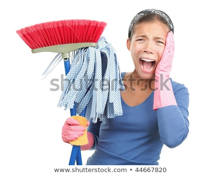 Fed up of housework Stock photo © photography33