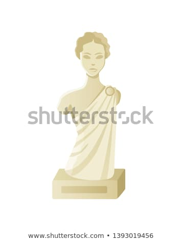 Beautiful Woman Sculpture Stock photo © Kacpura