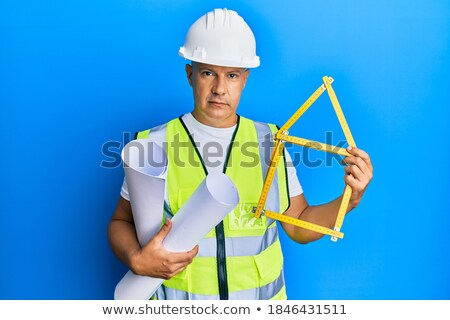 mature architect with a serious face stock photo © photography33