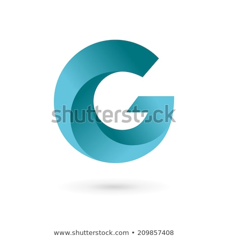 Glossy Icons for letter G stock photo © cidepix