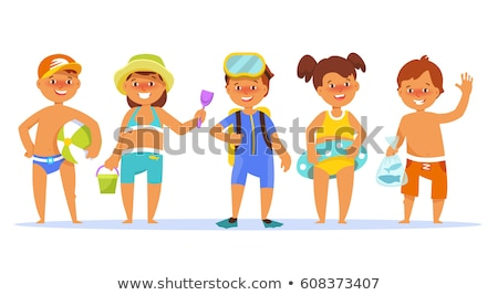 Bathing Suit Girl Stock photo © keeweeboy