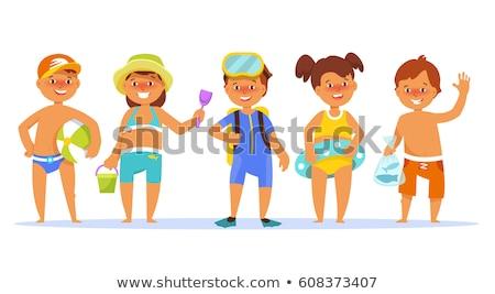 Bathing Suit Girl stock photo © keeweeboy