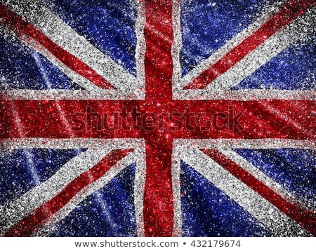 Diamante union jack bandeira celebrar rainha 60 Foto stock © speedfighter