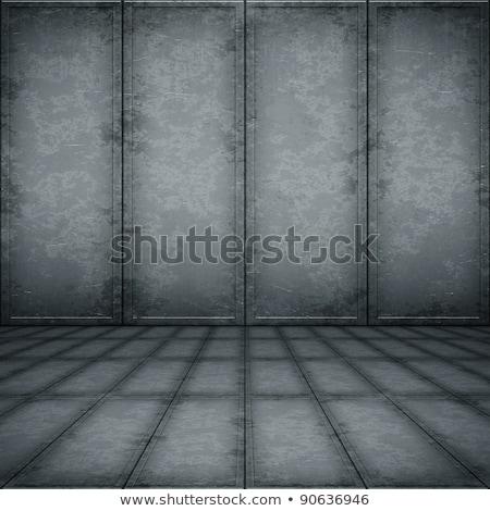 velho · enferrujado · superfície · metálica · textura · parede - foto stock © pzaxe