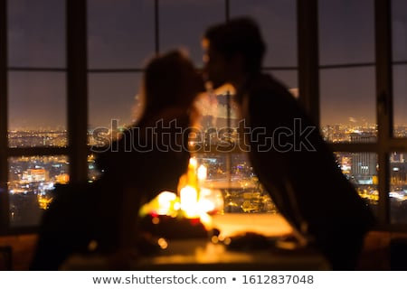 affectueux · couple · jeunes · s'adapter · adulte - photo stock © Forgiss