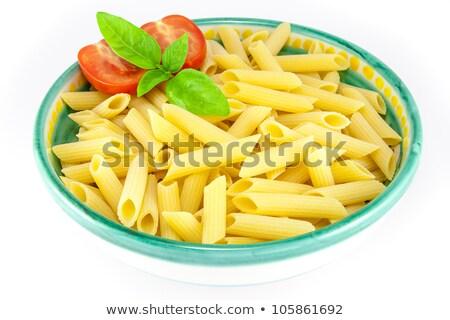 ручках · пасты · помидоров · базилик · здоровья · обеда - Сток-фото © armisael