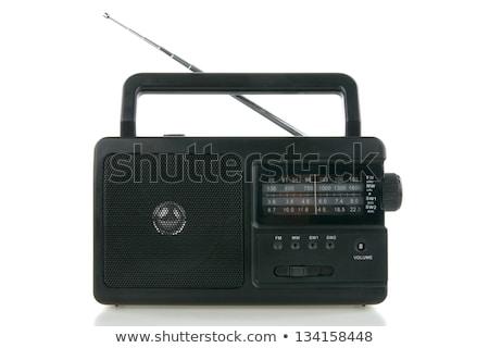 portable radio sets on a white background Stock photo © ozaiachin
