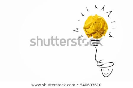 Word IDEA Stock photo © a2bb5s